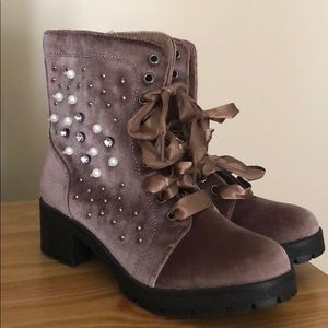 Madden girl combat ankle boots